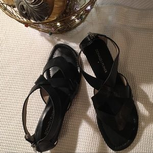 DONALD J. PLINER Size 8 Wedge Sandals